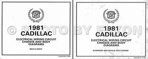1981 Cadillac Seville V8 Gas Foldout Wiring Diagram Electrical Schematic