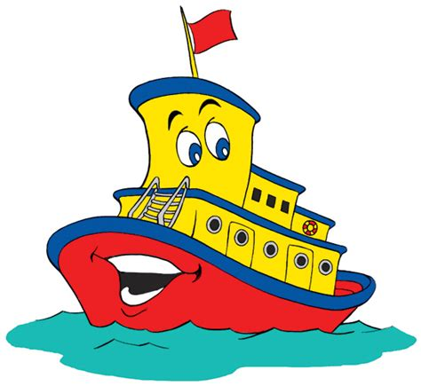 Tiny Boat Cartoon by Ferry Clipart Tug Boat Pencil And In Color Ferry Clipart