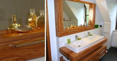 Badezimmermöbel Holz Modern