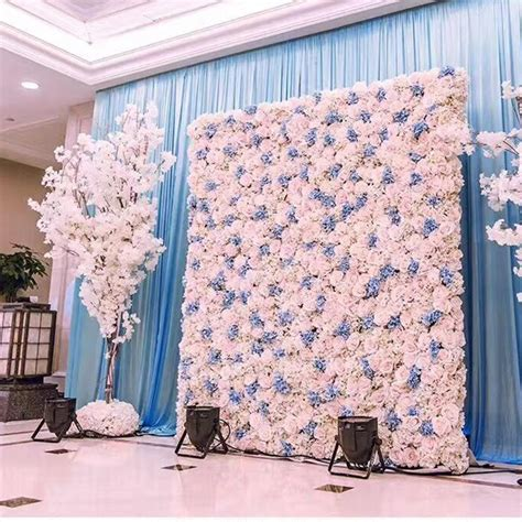 Wall Decoration Ideas Spice Up That Wall by 40x60cm Artificial Silk Flower Wall Hydrangea Peony