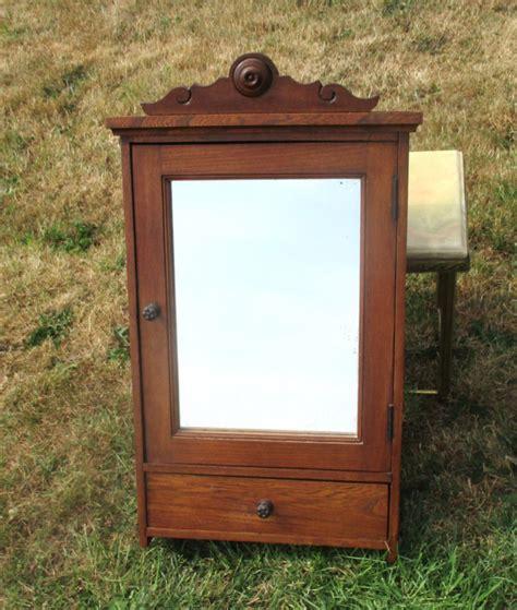 antique medicine cabinet bathroom antique wood medicine cabinet with mirror door
