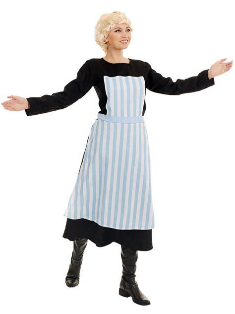 ladies maria von trapp costume book week fancy dress hub