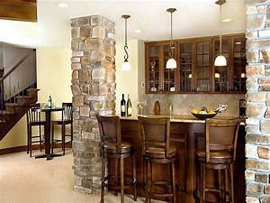 cool basement ideas for your beloved one homestylediarycom With basement bar design ideas pictures