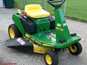 Tractordata Com John Deere Gx75 Tractor Photos Information