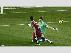 Barcelona 5 Real Madrid 0 Ronaldo in a rumpus at the Nou