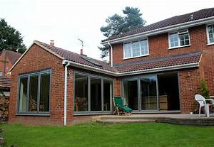 Kitchen And Garden Room Extension