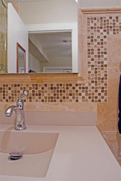 bathroom mosaic ideas mosaic tiles flow throughout the bathroom creating a