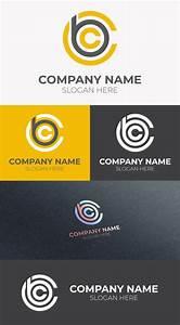 Initial, Creative, Cbc, Letter, Logo, Design, U2013, Graphicsfamily