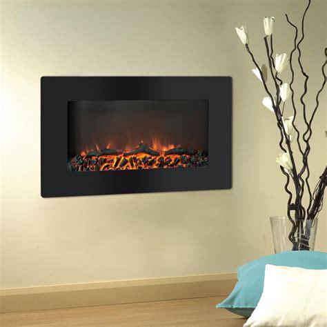 cambridge callisto   wall mount electronic fireplace