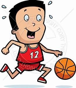 Cartoon Boy Basketball Vector and Royalty Free License ...