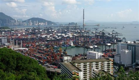 port de hong kong due to congestion hong kong port skipped by container ships maritime news vesselfinder