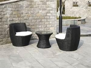 Polyrattan Gartenmoebel Set : polyrattan gartenm bel set staple schwarz vase amphore ~ Markanthonyermac.com Haus und Dekorationen