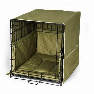 crate cover and bedding set classic style With best bedding for dog kennel