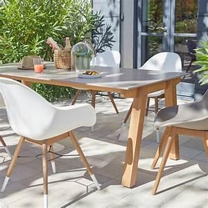 Salon De Jardin Table Et Chaise Mobilier De Jardin