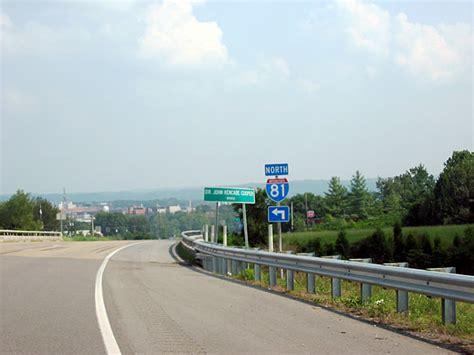 81 interstate tn south pine town sr interchange tennessee aaroads leads diamond