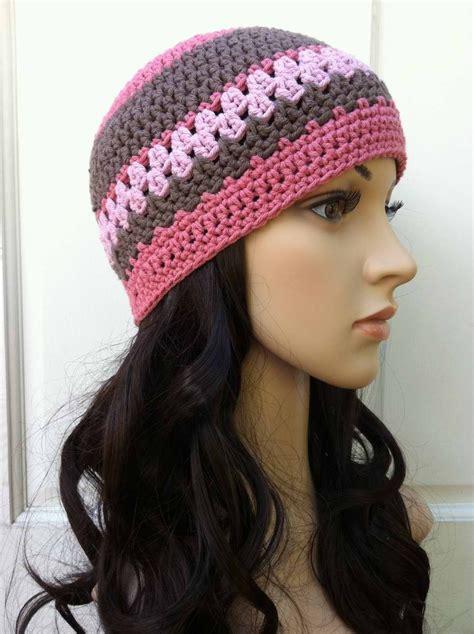 crochet beanie ladies crochet hat pattern womens beanie pattern no 208