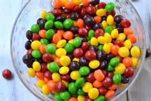 Rainbow Ice Cream Skittles