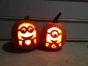 Minion Pumpkin Carving Easy by Minion Pumpkin Carvings From Despicable Me Making The