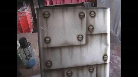 airbrush rust effect
