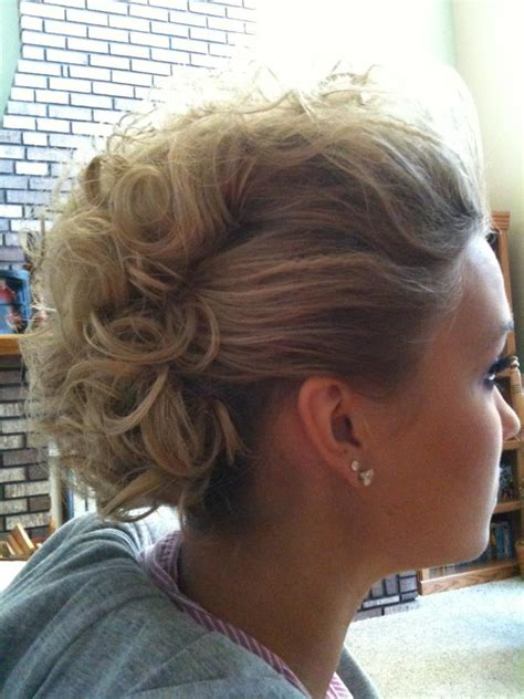 Mohawk Updo Hairstyles by Mohawk Updo Do What You Mohawk Updo