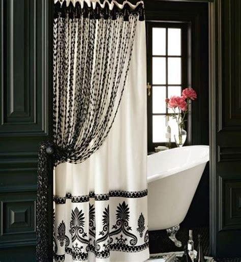19 noir et blanc 25 rideaux de fantastique pour pimentez votre salle de bains