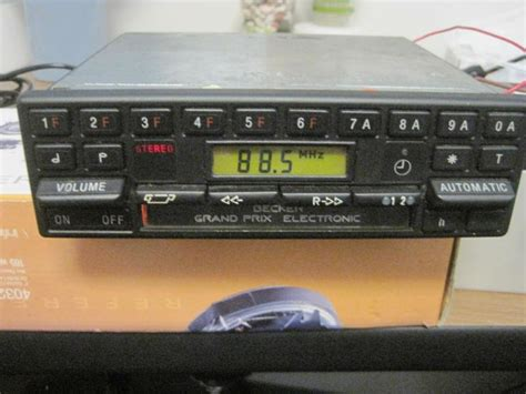 purchase mercedes becker grand prix 612 am fm radio cassette motorcycle in louisville colorado