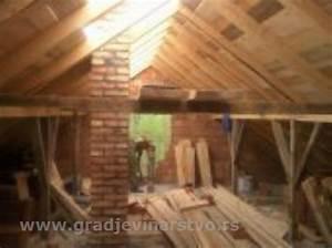 Renoviranje krova cijena