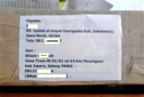 bagaimana  mengganti alamat pengiriman jne