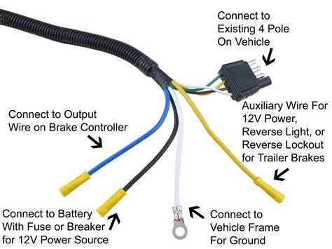 Pin Trailer Connector Wiring Diagram