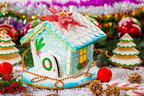 Gingerbread House Jigsaw Puzzle In Christmas & New Year