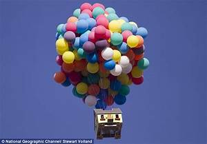 National Geographic real-life floating house: Pixar's Up ...
