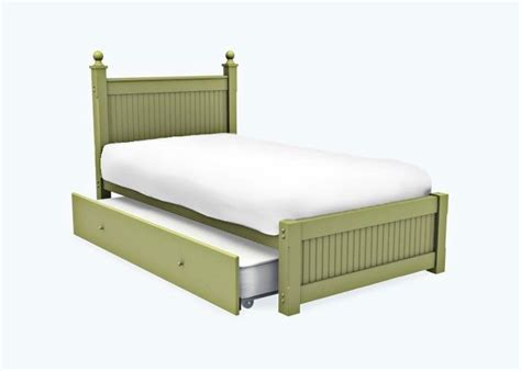 Cottage Cannonball Bed