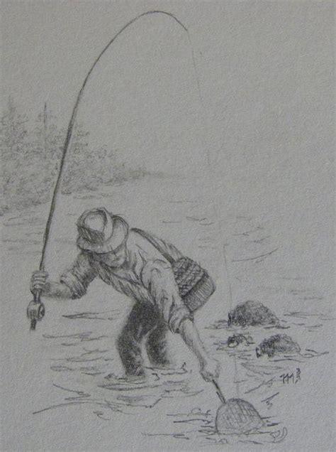 bass fish drawing  pencil