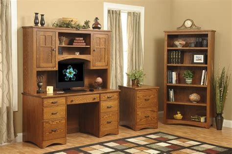 Prairie Mission Desk With Hutch Top From Dutchcrafters