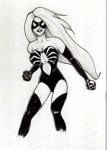 Spider Girl | Free Coloring Pages on Art Coloring Pages