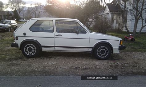 rabbit volkswagen 1984 volkswagen rabbit gti turbo