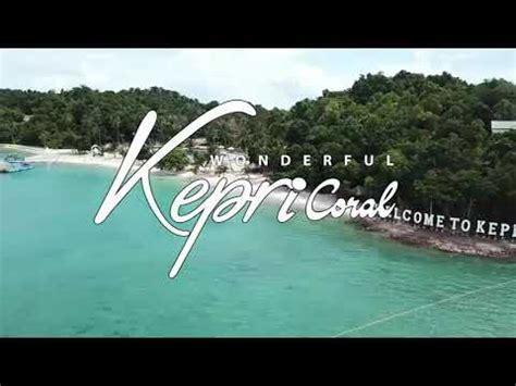 kepri coral island wisata   batam youtube