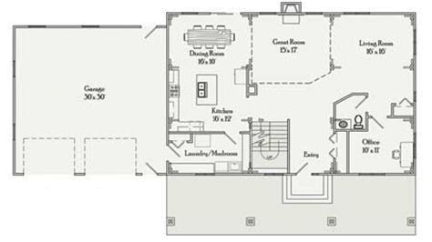 rectangular house plans  bedroom  bath simple rectangular house floor plans rectangular floor