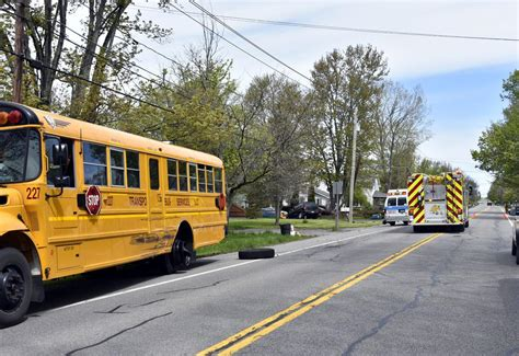 Man Arrested After Sideswiping School Bus Crime