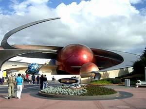 Future World Architecture | Mission: Space Pavilion entrance
