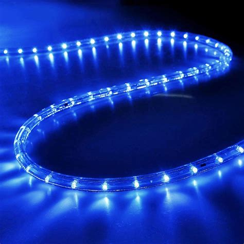 delight led rope light waterproof garden outdoor