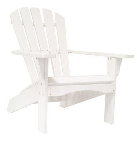 Real Comfort Adirondack Chair White by Shine Company Newport Adirondack Chair White Home