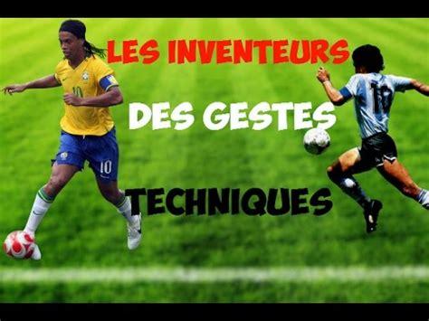 les inventeurs des gestes techniques dans le football