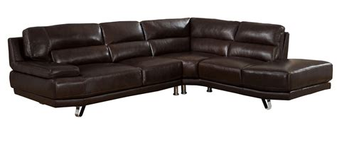 brown leather sectional top grain brown leather sectional