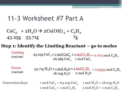 All Worksheets » Stoichiometry Worksheets  Printable Worksheets Guide For Children And Parents