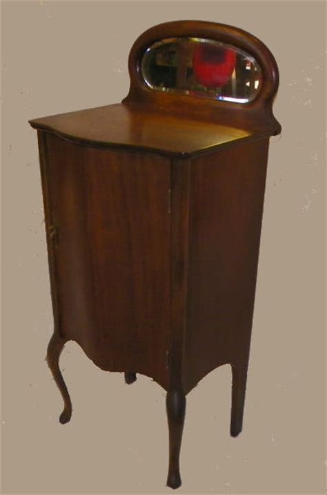 Bargain John's Antiques   Antique Mahogany Music Storage