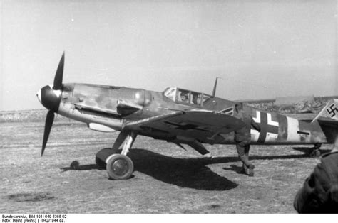 Messerschmitt Bf 109 (Me 109) - History and Pictures of