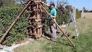 Poteau A Linge En Beton : poteau en beton arme 2017 avec poteau beton pour etendoir ~ Dailycaller-alerts.com Idées de Décoration