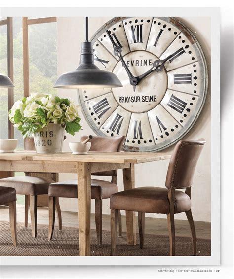 large clock  dining room living room spiration