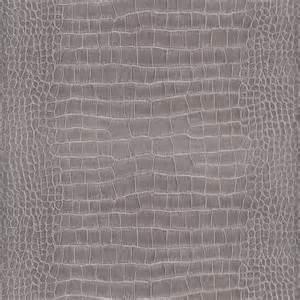 Papier Peint Croco Gris by Vinyl Lourd Sur Intiss 233 Effet Crocodile Anthracite Castorama